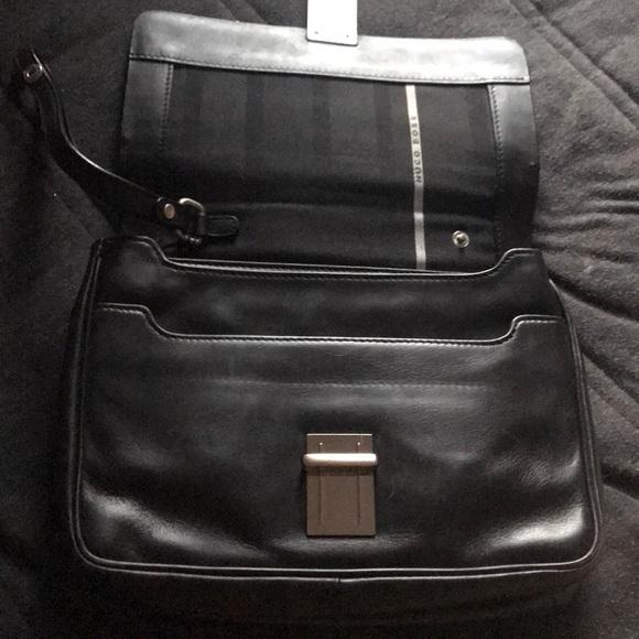ae82b219f7 Hugo Boss Bags | Slightly Used Mens Black Bag | Poshmark